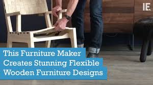 Latest Wooden Sofa Designs This Furniture Maker Creates Stunning Flexible Wooden Furniture