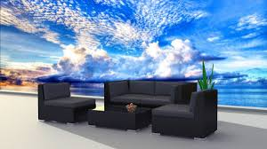 Sofa Set Amazon Furnishing Black Series Outdoor Sectional Sofa Set