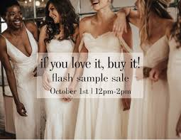 wedding sale sample sale wedding dress sale