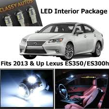 lexus es update amazon com classy autos lexus es350 es300h white interior led