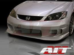 2005 honda civic front bumper tz style front bumper cover for honda civic 2004 2005