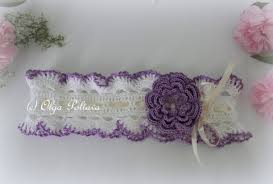 crochet baby headband lacy crochet baby headbands