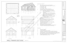 g448 24 x 20 8 free pdf garage plans blueprints construction