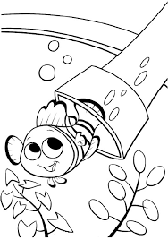 printable nemo fish coloring pages finding nemo coloring