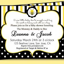 bumble bee baby shower invitation diy printable baby gear gallery