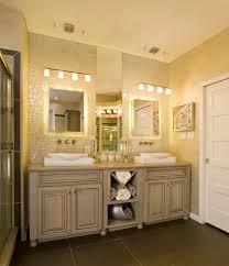 bathroom classy bathroom lighting fixtures over mirror vanity