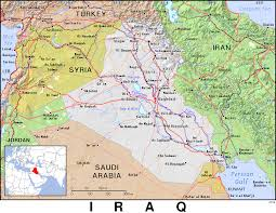 Map Iraq Iq Iraq Public Domain Maps By Pat The Free Open Source