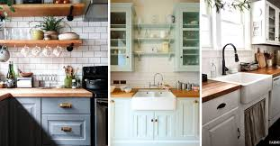 kitchen cabinet colors farmhouse 19 wow worthy farmhouse kitchen cabinet ideas