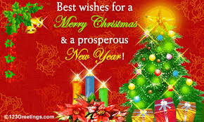 a merry and a prosperous new year free business