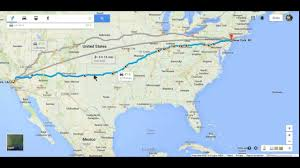 Mexico Ny Map by Hitchhiking Maps La To Nyc Youtube