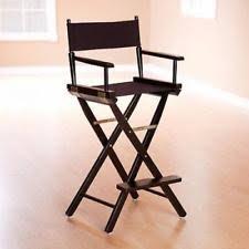 Fold Up Bar Stool Director U0027s Chairs Ebay