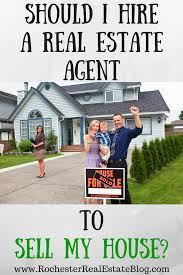should i hire a real estate agent to sell my house