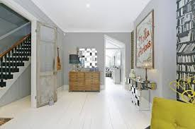 Small Terrace House Design Ideas Interior Design London Whitewashed Floorboards Victorian