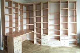 plan pour fabriquer un bureau en bois fabriquer bureau bois bibilothaque et bureau dangle sur mesure