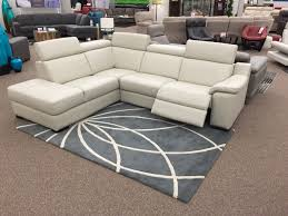 Power Sofa Recliners Leather by The Ashlynn Sectional Just Arrived At Sofa Land This 100 Leather