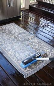 cleaning outdoor rugs thrifty treasures how to clean an outdoor rug cleaning