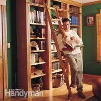 Floor To Ceiling Bookcases Building Bookshelves The Family Handyman