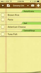 Grocery Shopping List Template Top 11 Grocery List Apps For The Iphone