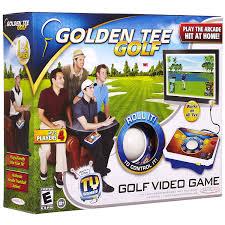 amazon com tv games deluxe golden tee toys u0026 games