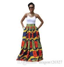 2017 dashiki skirt african print clothing 2017 fashion women