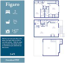 floor plans bellaria townhomes prev