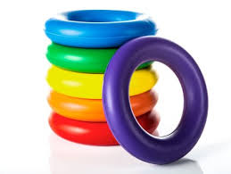 baby toy rings images Rainbow foam ring gopher sport jpg