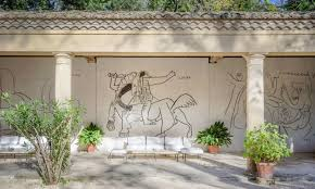 picasso s former hangout could be yours french the o jays and chateau de castille a 1300s era castle in southern france covered in murals