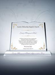 pastor appreciation gift plaque diy awards
