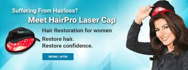 Laser Hair Growth Hat Hairpro Laser Cap Clinically U0026 Fda Proven Technology For Hair