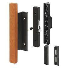 Patio Door Handle Lock Primeline Sliding Patio Door Handle Lock Black Mp1105 Zoro