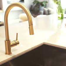 gold kitchen faucets brushed gold faucet vernon manor com