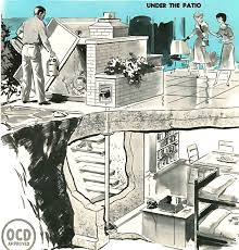 underground shelter designs nuclear bomb shelter cutaway 1961 1961 pinterest nuclear bomb