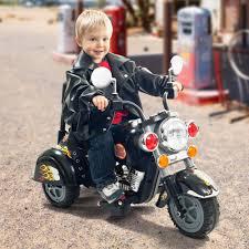 power wheels for girls 3 wheel trike chopper motorcycle ride on toy for kids by rockin