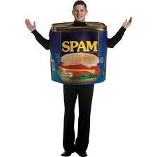 amazon com halloween costumes amazon com spam costume clothing
