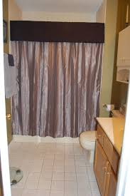 bathroom curtain ideas for shower luxurious bathroom valances and shower curtains 62 with addition