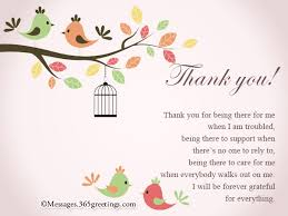 thank you card for thank you card messages 365greetings