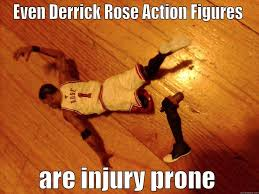 Derrick Rose Injury Meme - titis quickmeme