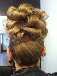 barrel curl hairpieces pin curls updo hairstyles photo album hair trends 2017