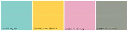 color palette bevvy