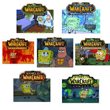 World Of Warcraft Meme - found this wow expac spongebob meme floating around wow