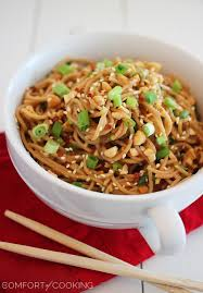 asian peanut noodle salad recipes food salad tech