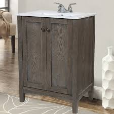 Bathroom Vanities 18 Inches Deep by Plain Bathroom Vanity 18 Depth 2 Wooden Floor 2007386688 And