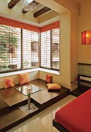 Beautiful Indian Homes Interiors Gorgeous Decorative Red Paint Wall Finish For Indian Interior