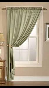 Side Window Curtain Rods One Panel Curtain For Small Window Love The Curtain Rod Does