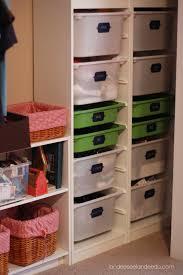 vinyl label intervention needed kid closet closet organization