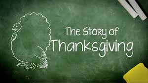 thanksgiving printable history story for kids for thanksgiving