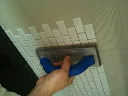 innovative kitchen tile installation how to install a glass tile