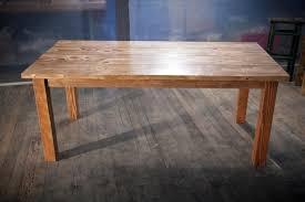 solid wood farmhouse table farmhouse dining table
