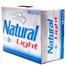how much alcohol is in natural light beer natural light 12 pack 12oz cans beer wine and liquor