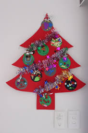 kids christmas tree craft christmas lights decoration